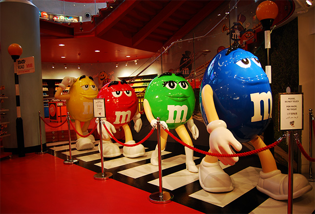 M&M's World London Abbey Road