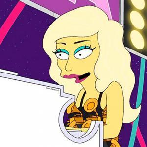 Lady Gaga - The Simpsons