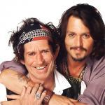 Keith Richards et Jack Sparrow