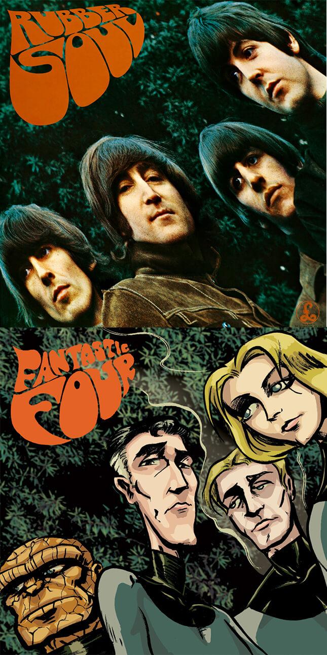 The Beatles - Rubber Soul - Paul Hostetler