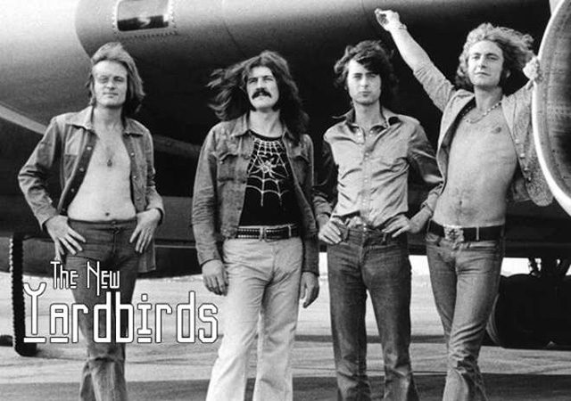 Led Zeppelin alias The New Yardbirds