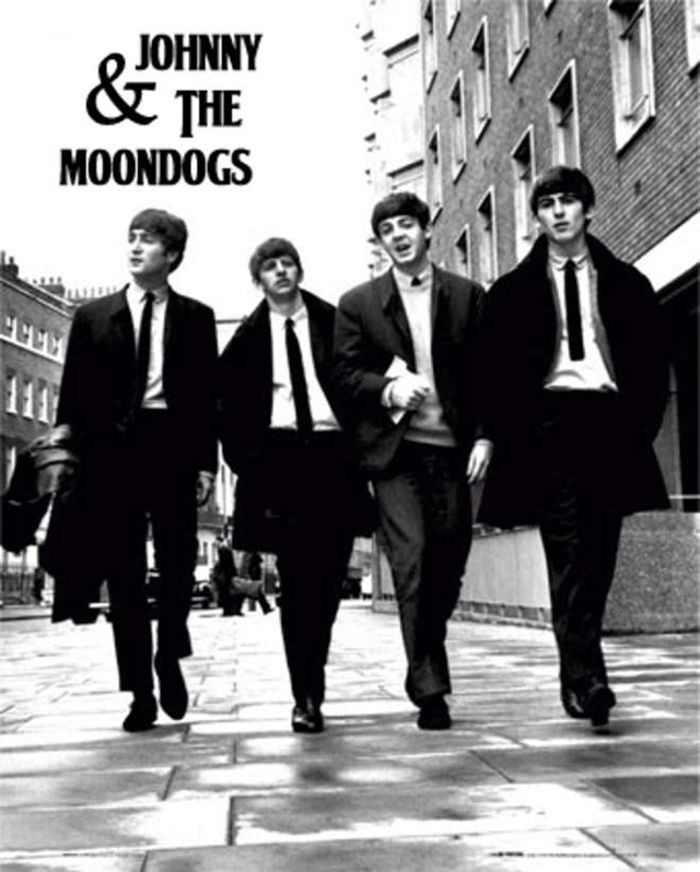 The Beatles alias Johnny And The Moondogs