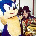 Sonic et Michael Jackson