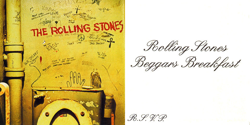Pochettte Beggars Banquet - The Rolling Stones