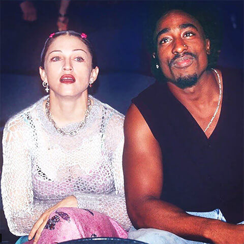 Madonna et Tupac