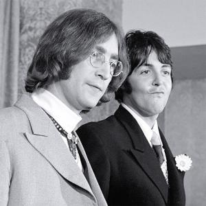 John Lennon et Paul McCartney