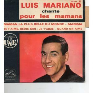 Maman, la plus belle du monde par Luis Mariano - Pub Intermarché