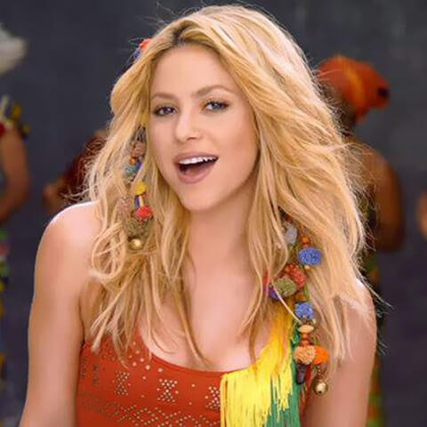 Waka Waka de Shakira