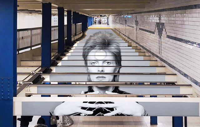 David Bowie - Station Broadway-Lafayette