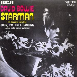 pub parfum Bleu de Chanel - Starman de David Bowie