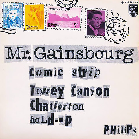 pub Nina Ricci - Comic Strip de Serge Gainsbourgpub Nina Ricci - Comic Strip de Serge Gainsbourg