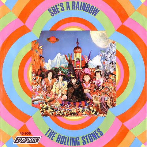 pub Dior parfum Joy - She's A Rainbow - The Rolling Stones
