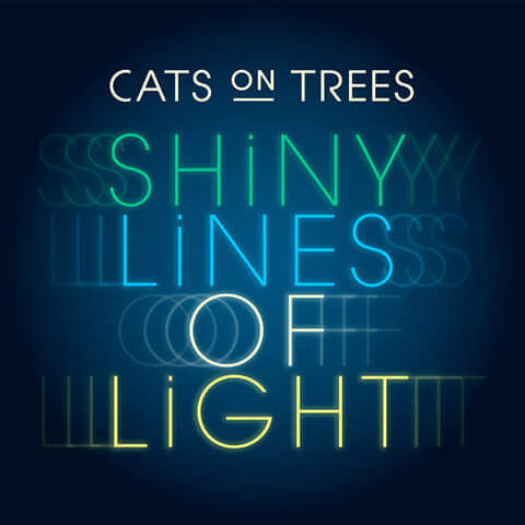 pub Galeries Lafayette noël - Shiny Line of Light de Cats on Trees