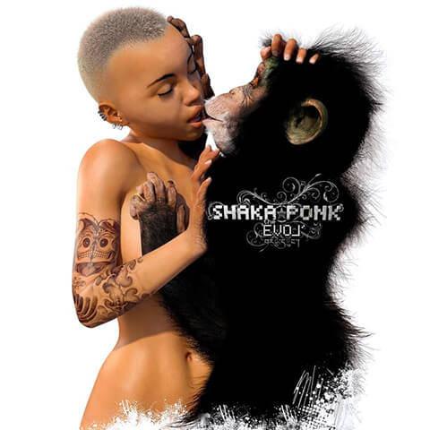 pub Qobuz - The Evol de Shaka Ponk
