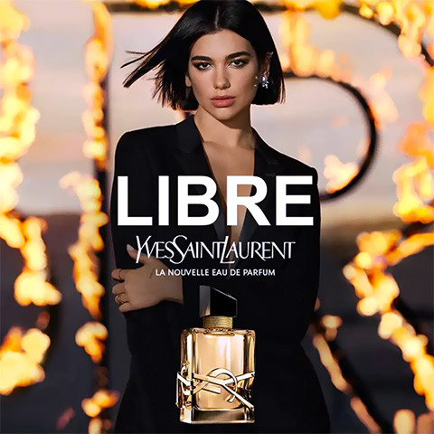 pub Yves Saint Laurent - I'm Free de Dua Lipa